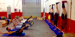 Gimnastic class